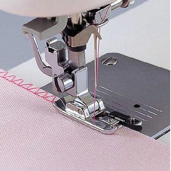2Pcs 3mm+6mm Presser Foot Feet Narrow Rolled Hem Sewing Foot Presser For Brother Singer Janom Domestic Sewing Machine Tool