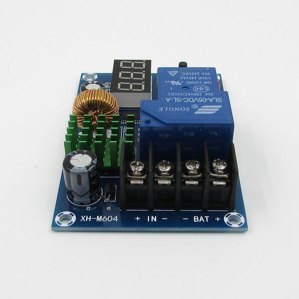 Freeshipping 12 v 24 v 36 v 48 v 60 v Dijital led Kurşun-asit lityum pil şarj kontrol modülü koruma anahtarı Şarj Kontrolörü