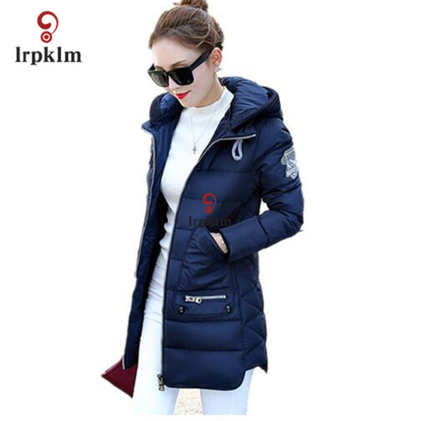 Winter Women Jacket parka women jackets Plus Size Women Winter Long Jacket Coat 7XL pink winter jacket 7XL 6XL 5XL 4XL 3XL YY285 S18101506