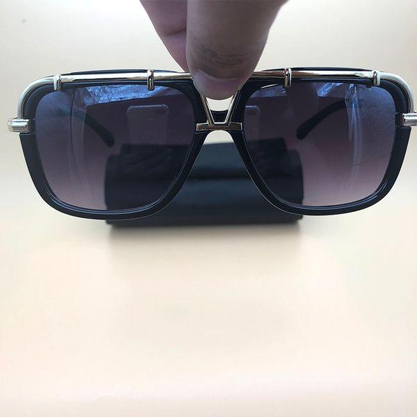 Metal Sunglasses Black Frame Women Men Eyewear Fashion Brand Eyeglasses Metal Frame glasses Lunettes De Soleil 4019