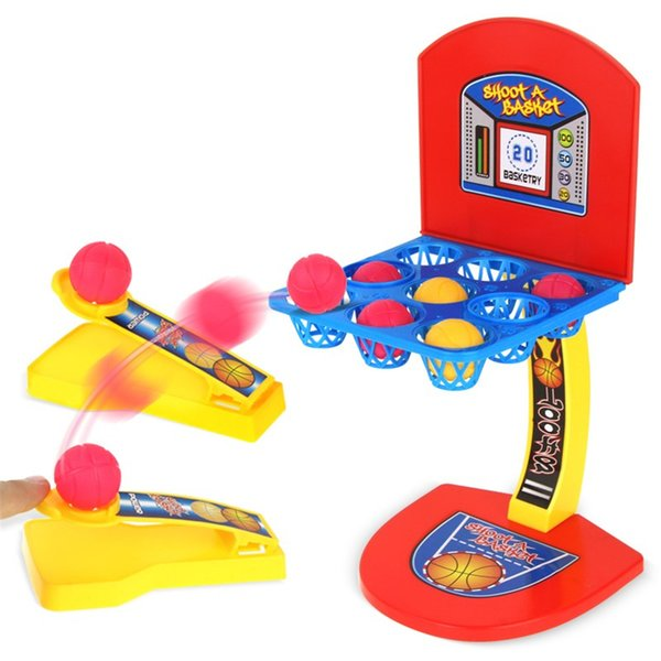 New Creative Kid Toys Mini Basketball Toy Basketball Stand Indoor Parent Child Family Fun Table Game Toy Basketball Shooting Games Bath Toys Wooden