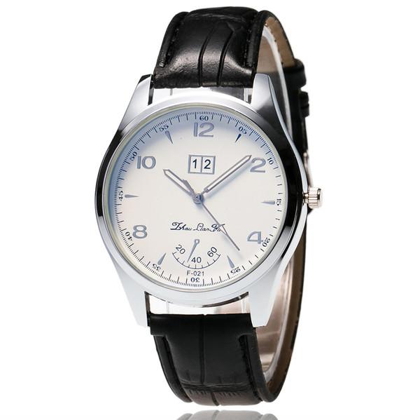 OTOKY New Men Leather Band Watches Sport Analog Quartz Date Wrist Watch painting Simple Quartz Wristwatches SY04