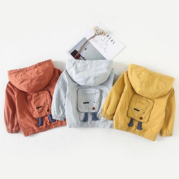 buy online 50218 58973 Großhandel Kinder Kleidung Baby Jacken Jungen Zipper Hoodie Mäntel Infant  Wintermantel Baby Boy Jacke Outfit Windschutz Oberbekleidung Von Indusrain,  ...