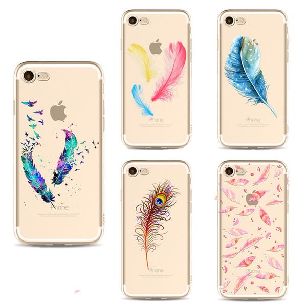 coque iphone 6 plume doux