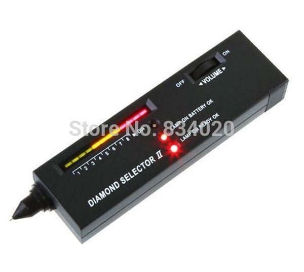 Portable Diamond Selector II Edelstein Tester Werkzeug LED Audio NEUE Uhr Reparatur Werkzeuge