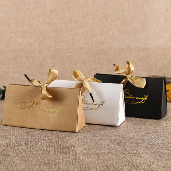 Kraft Paper Box DIY Lipstick Perfume Cosmetics Packaging Wedding Party Candy Birthday Gift Boxes Free Shipping QW8682
