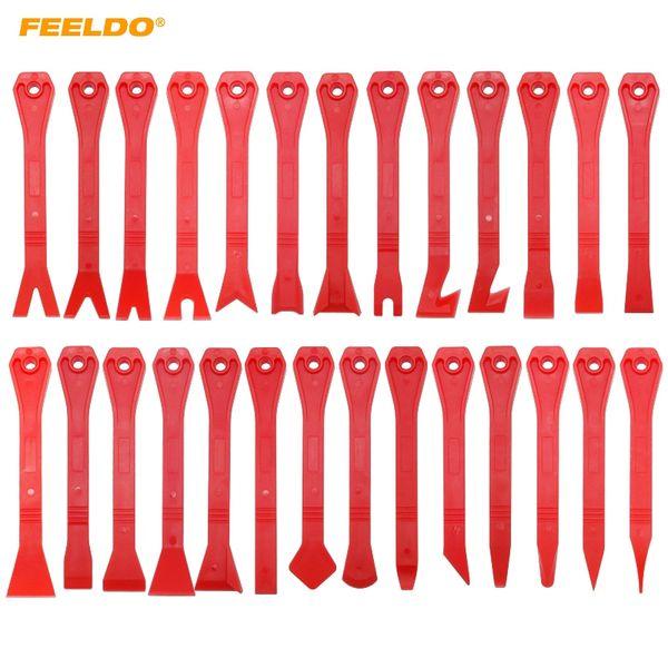 FEELDO 27 stücke Auto Auto Reparatur Pry Demontage Innentür Clip Verkleidung Radio Dashboard Removal Tool Öffnung Hand Kit # 5741