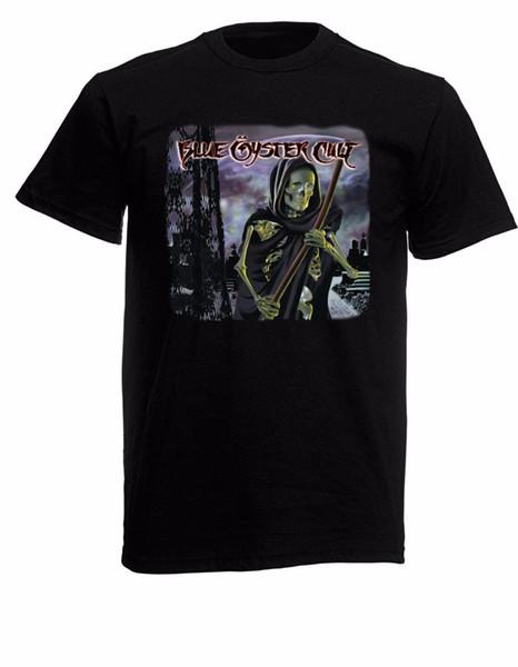 Camiseta para hombre Black Oyster Cult Black Rock NUEVOS TAMAÑOS S-XXXL