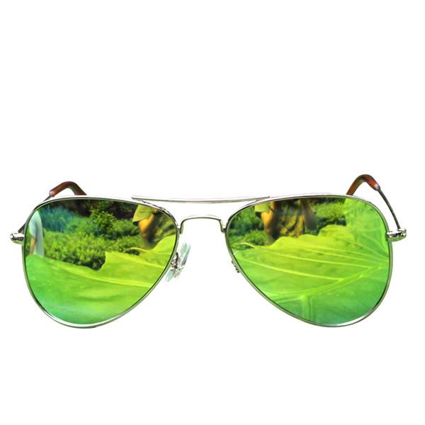 whole sale&retail Classical light metal polarized Sunglasses w Flash Lenses - sunglass for Kids&Men/Women/lot drop shipping