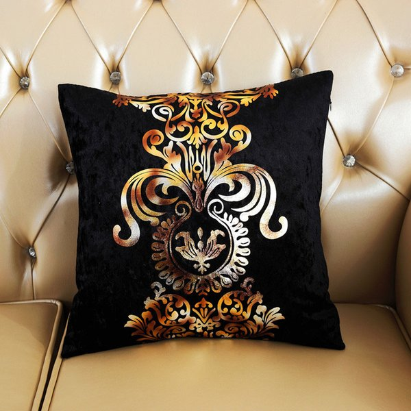 Miraculous European Stamping Printing Cushion Cover Suede Fabric Throw Sofa Pillowcase Home Car Decorative Pillow Covers 45X45Cm Outdoor Lounge Chair Cushions Alphanode Cool Chair Designs And Ideas Alphanodeonline