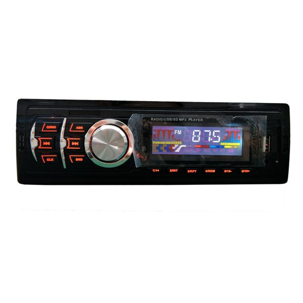 factory customed 1DIN FM radio car mp3 player stereo bluetooth handfree with mobile phone remote control free shipping