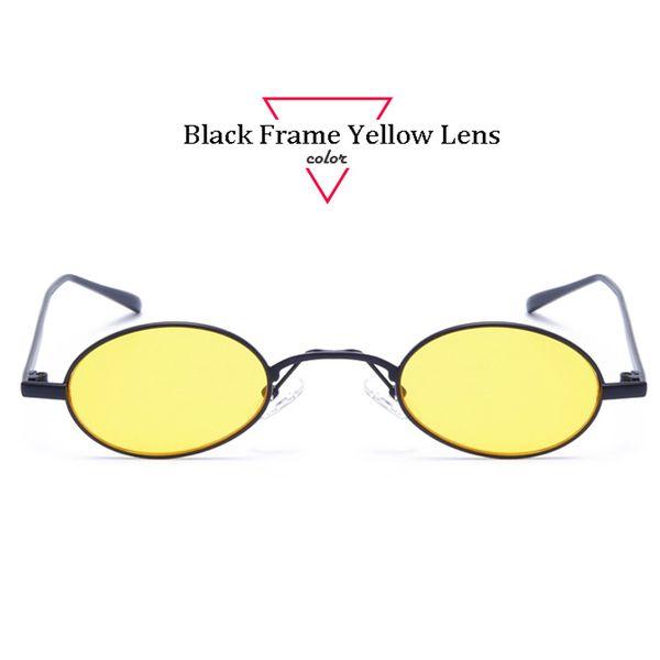 Black Frame Yellow Lens