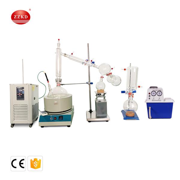 2019 ZZKD 10000 ML 110V Short Path Distillation Standard Set W/Vacuum Pump  & Chiller From Zzkeda, $2484 47   DHgate Com