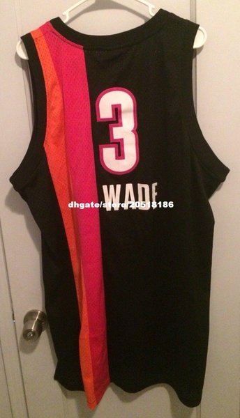 sports shoes d6677 cc5cd 2018 Cheap Custom Stitching Dwyane Wade Floridians Jersey Rb Men Flash #3 T  Shirt Vest Sleeveless Basketball Jerseys From Nfljersey1, $16.74 | ...