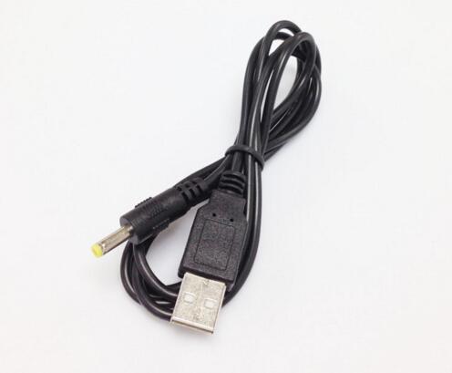 Alta calidad 1.2 CM 5 V DC Cable de alimentación USB 4.0 * 1.7mm USB luces ventilador relojes del radiador HUB