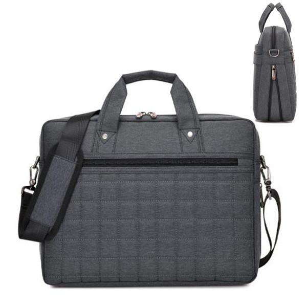 2018 старинные бизнес Мужчины Женщины портфель сумка для верхней продажи нейлон ноутбук сумка повседневная человек сумки на ремне бизнес-документ