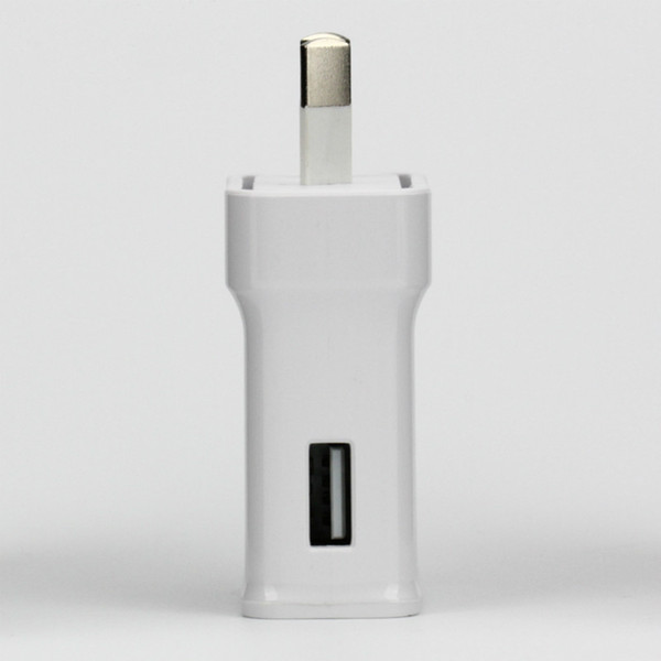 S6 AU подключи быстрое зарядное устройство 2,0 9.0V 1.67a или 5.0V 2A стены дома адаптер зарядное устройство для Samsung Galaxy Note3 S6 s7 s8 50pcs / lot