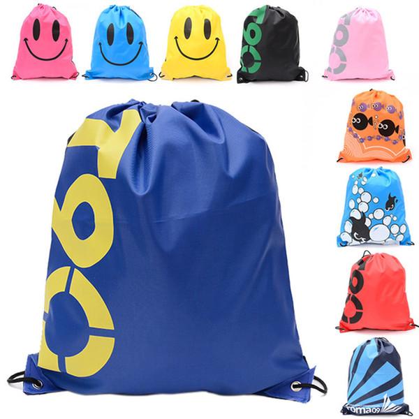 Large Backpack Pull Rope Sundry Clothing Storage Waterproof Shoe Bag Beach Swimming Bundle Pocket Storage Organization Pouch