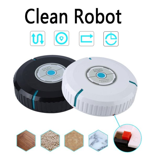 Automatically Induction Smart Clean Robot Dust Hair Microfiber Floor Cleaner Rechargeable Silent Sweeper Smart Home Accessories