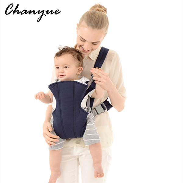 Chanyue Baby Bakpack Newborn Hipseat Carriers Cuscinetto di carico 20 kg Canguro Canguro Sling Pouch Anteriore Carry Toddler wrap 0 ~ 36 M