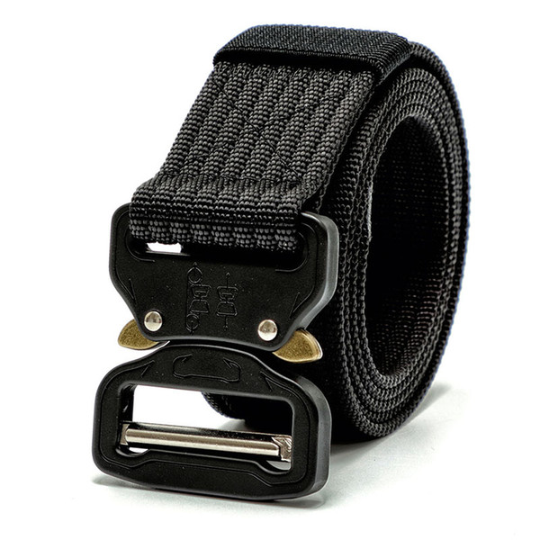 6 Color Tactical Gear Heavy Duty Belt Nylon Metal Buckle Swat Molle Padded Waist Belt Tactical Hunting Accessories New