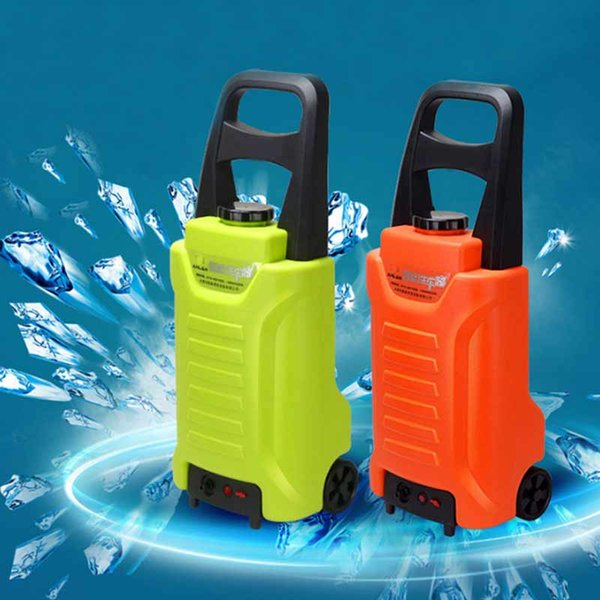 Portable Cigarette Lighter Car Wash 12V Washing Machine Including High Pressure Gun&Water Pipe & Foam Pot & Brush Towel