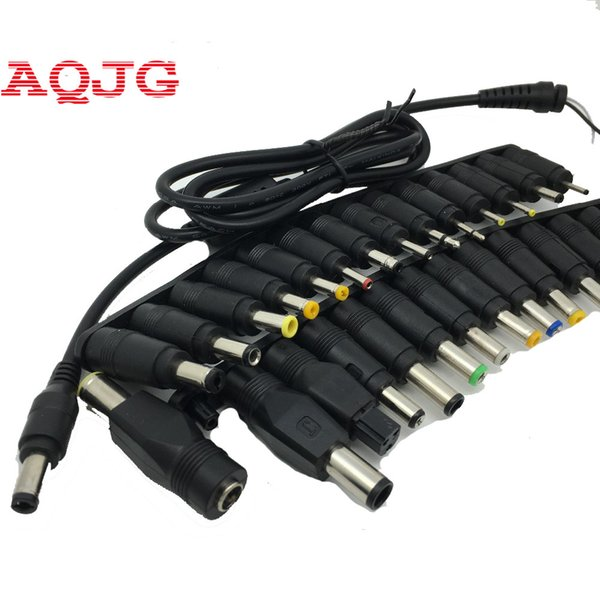 New 28 in 1 Set New Universal AC DC Jack Charger Connector Plug for Laptop /Notebook AC DC Power Adapter with Cable 5.5*2.5