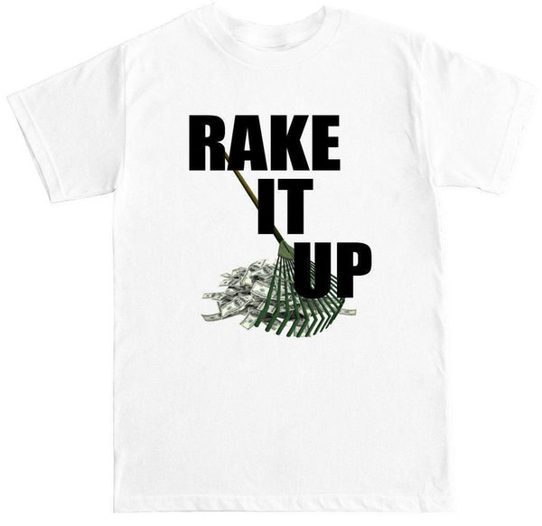 RAKE IT UP YO GOTTI NICKI MINAJ HIP HOP RAP MUSIC CONCERT MONEY STRIPPER T  SHIRT Brand 2018 New T Shirt Man Cotton Buy Tee Top T Shirt Sites From