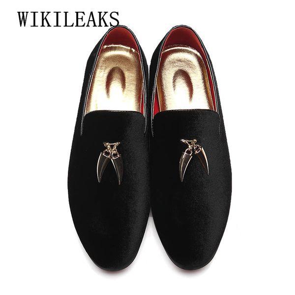 2018 más tamaño zapatos de decoración de metal para hombre zapatos oxford para hombre vestido de novia formal zapatos hombre sapato masculino