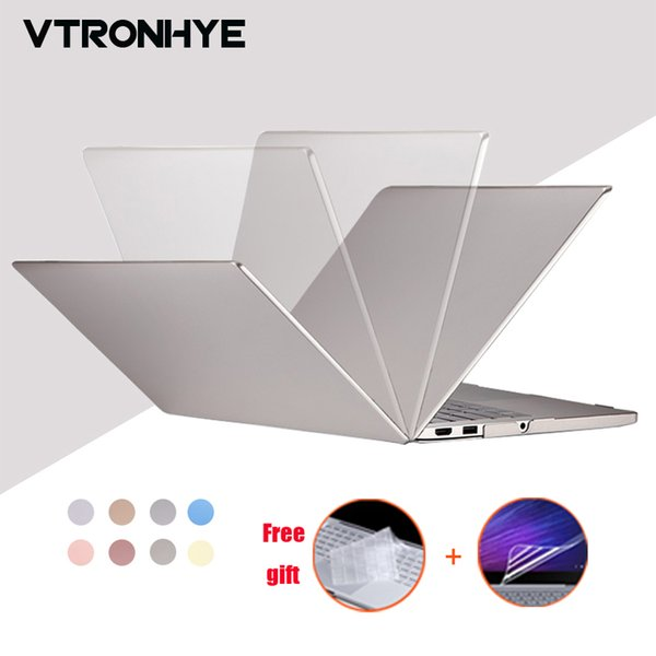 "VTRONHYE Case for Xiaomi Notebook Mi Air 12.5"" 13.3"" PC Hard Laptop Shell for funda Xiaomi Mi Air 12 13+keyboard cover+film"