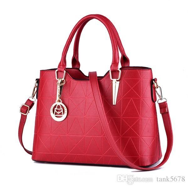 ACELURE Handbags pu female bag metal sheets decoration handbags sweet lady fashion handbags elegant luxury women shoulder bags