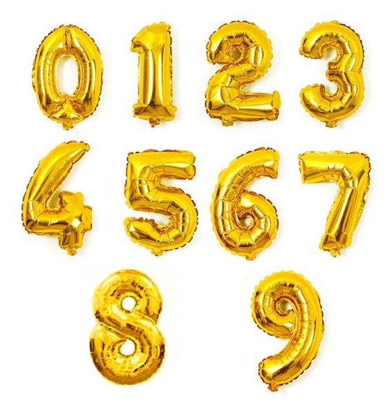 numeri d'oro da 0 a 9