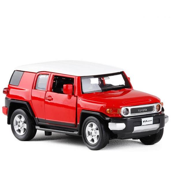 1:32 soundlight Toyota FJ modelo de colección de crucero aleación de coche tire hacia atrás coche juguete diecasts modelo de metal vehículo de juguete envío gratis