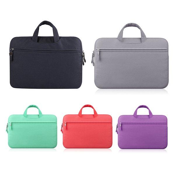 Hot Sale Colorful Soft Laptop Sleeve 11 13 15 15.6 Inch Laptop Bag Case for Macbook Pro Retina 15 Notebook Bags Drop Ship