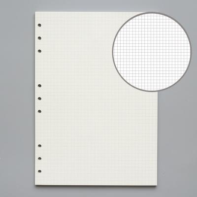 B5 grid 9 holes 5mm 45 sheets of paper