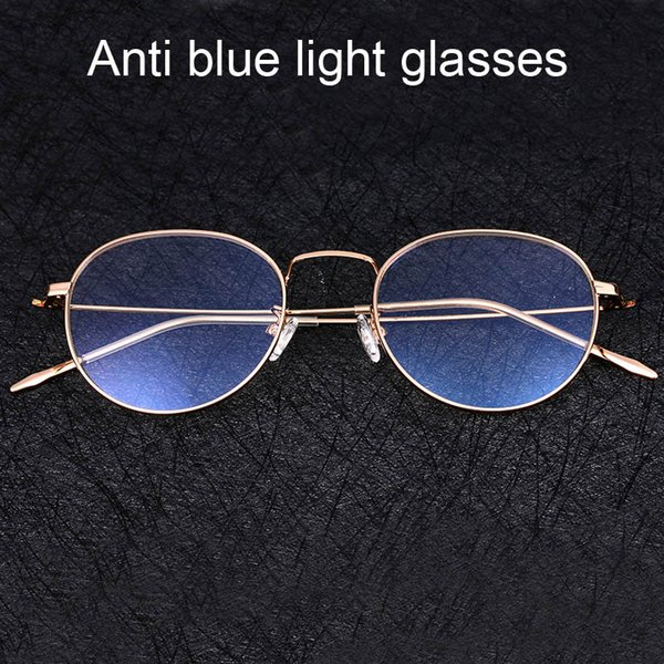 147a0f45c Anti Blue Light Glasses For Women Men Computer Phone Optical Eyeglasses  Coating Film blocking Ray Game