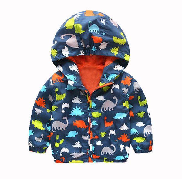 Çocuk Boys Çocuk Kapüşonlu Su Geçirmez Windbreak Kabanlar Yağmur Ceket Ceket Giyim