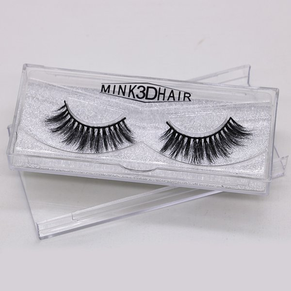 1Pair Sexy Fashion Charming Stylish 3D Mink False Eyelashes Long Cross Beauty Eye Lashes Extension Cosmetic Makeup Tools