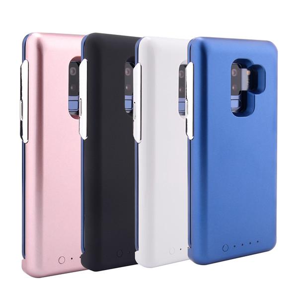 Funda de batería original del banco de la energía para Samsung Galaxy S8 S9 Plus Nota 8 S7 Edge Imanes cubierta inalámbrica con paquete al por menor