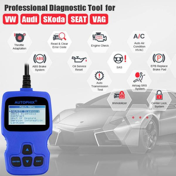 2019 Autophix VAG007 OBD2 Car Scanner Car Engine Fault Detector Code Reader  Special For Volkswagen Audi Skoda SEAT From Meijitejnzpc, $56 29 |