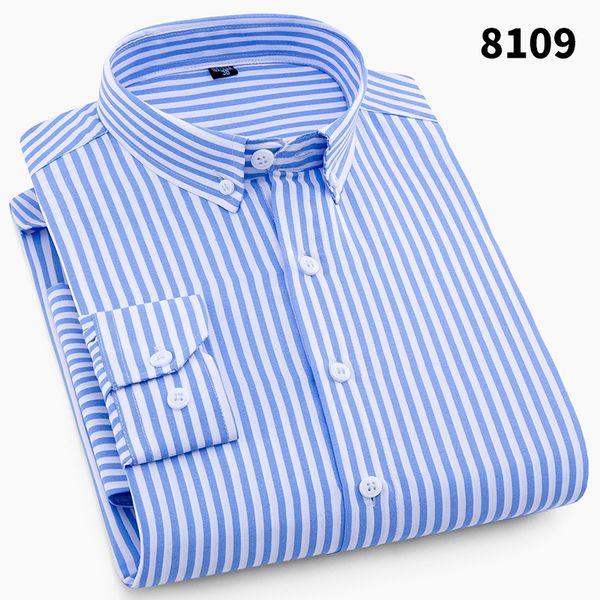 Camicia da uomo a maniche lunghe casual da uomo da uomo 2018 Camicia da uomo a 4 pezzi con maniche lunghe in stile classico