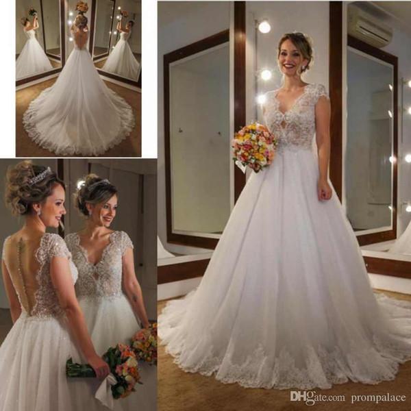 Vestidos de novia vintage 2019