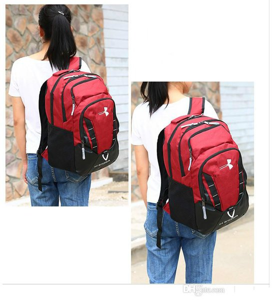 Brand designer New Style U & A Backpack Light Casual Backpacks Travel Outdoor Sports Bags Teenager Students Under Brand School Bag 5 Colors