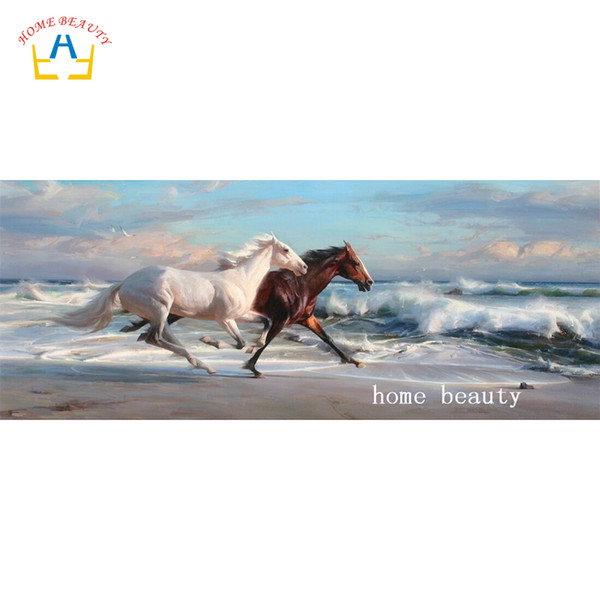 animals horse full drill resin diamond on picture diamond painting DIY gift embroidery with diamond home decor living room AC426