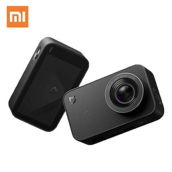 Original Xiaomi Mijia Action Camera English Version 4K Video Recording Digital Cameras Bluetooth WiFi 145 Degree Wide Angle