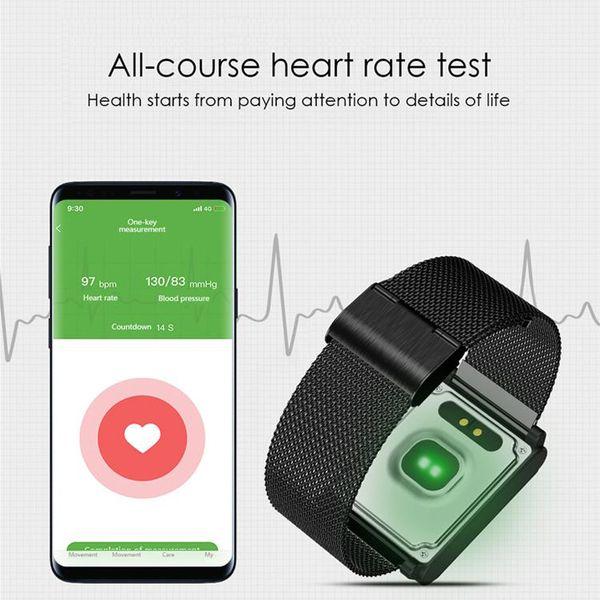 Multifonctionnel N98 Smart Watch montres intelligentes Fitness Track Band Fréquence Cardiaque Moniteur de Pression Artérielle Imperméable Bracelet PK fitbit DZ09