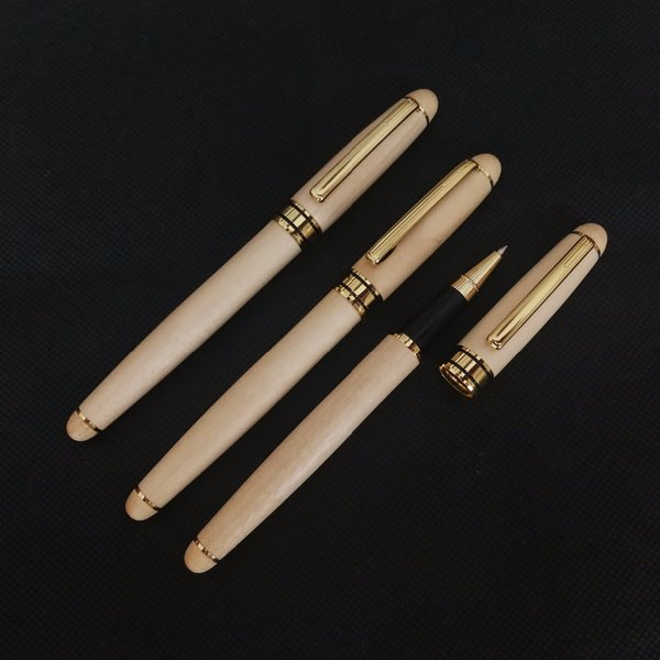 Wooden Banboo Ballpoint pen stylo pennen boligrafos kugelschreiber canetas penna kalem pens for writing caneta lapiceras 03709