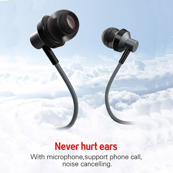 4f91d9136cb Earphones In-Ear Earbuds Headphones with Microphone and Volume Control For  Smartphone, OS-