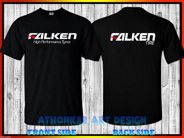 Falken neumáticos de alto rendimiento CAMISETA TEE FALKEN AZENIS CAMISETA DE NEUMÁTICOS Camiseta estampada Hombre Verano Hombre Camisetas Moda 2018 Ropa