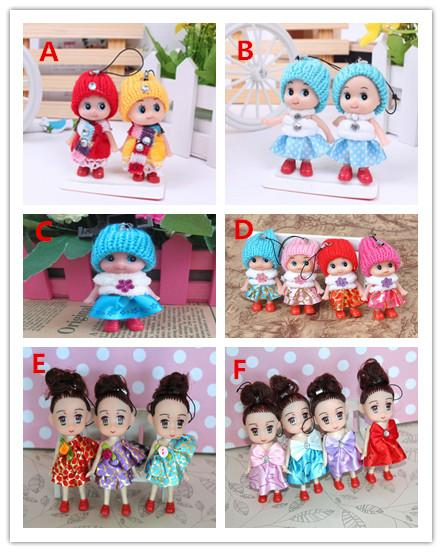 best selling 2018 Kids Toys Dolls Soft Interactive Baby Dolls Toy Mini Doll For Girls gift free shipping